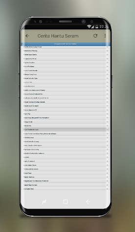 Kumpulan Cerita Hantu Seram Screenshot