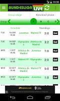 Screenshot of Bundesliga Live