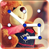 Free Download Teddy Bear Pattern Lock Screen APK for Samsung