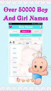 Baby Names and Meanings APK for Bluestacks