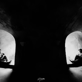 couple by Febri Andes - Wedding Other ( black and white )