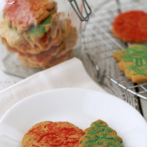 Thin and Crispy Sugar Cookies