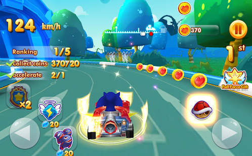 Sonic Chibi Race: 3D Free Kart & Car Racing Game