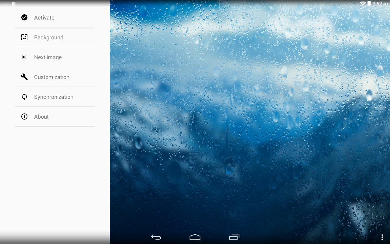 Rainpaper Screenshot 6