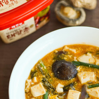 Korean Spicy Tofu Stew