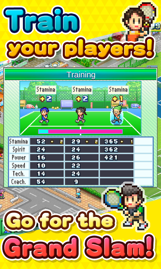 Tennis Club Story Screenshot 2