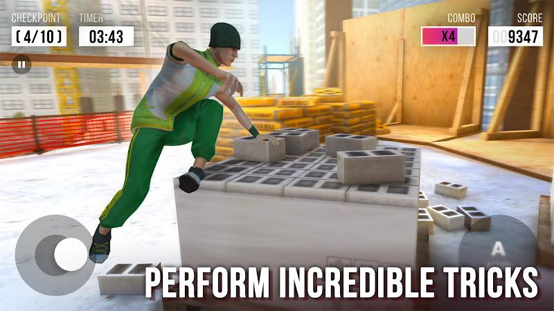 Parkour Simulator 3D Screenshot 1