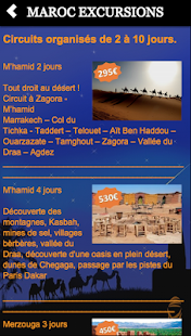 MAROC EXCURSIONS - screenshot