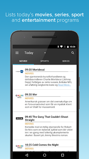 TVGuiden (without ads) - screenshot
