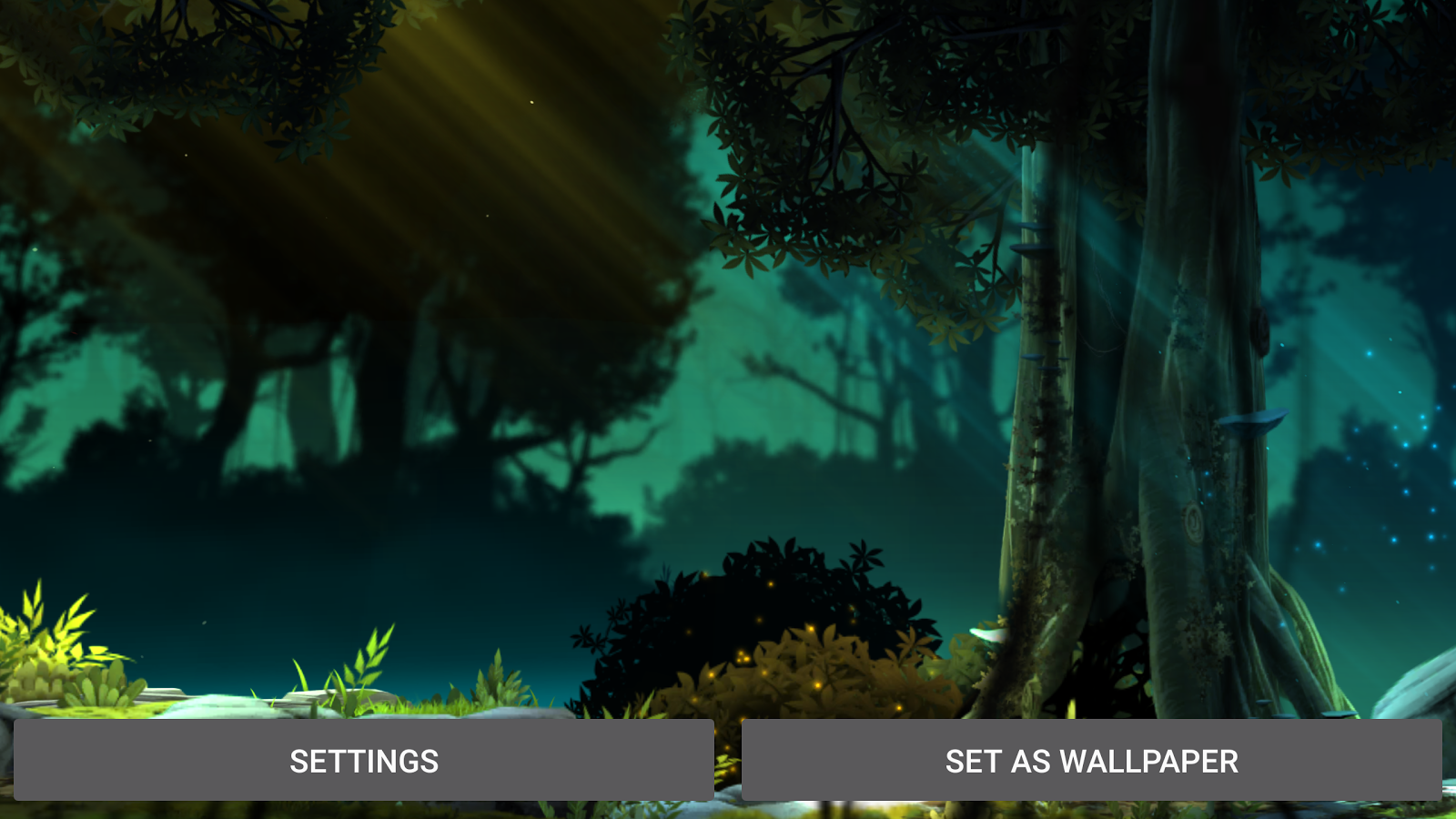 Fantasy Jungle Live Wallpaper Screenshot 9