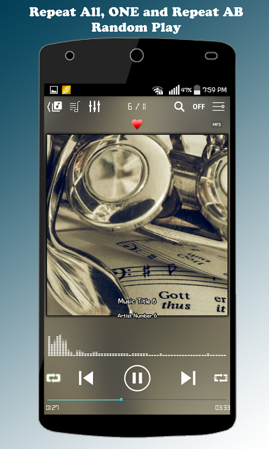 ZZang Music Player Screenshot 2
