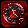 RedApple GO Clock Themes APK for Bluestacks
