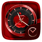 RedApple GO Clock Themes Icon
