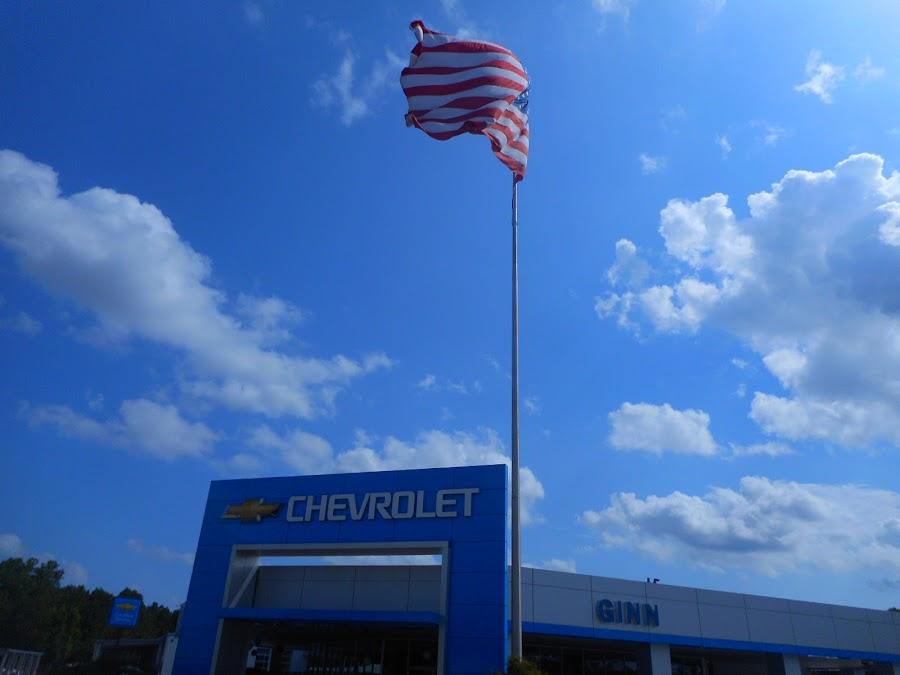 Ginn Motors Salutes America by David Jarrard - Public Holidays July 4th ( chevrolet, american made, patriotism, ginn motors,  )