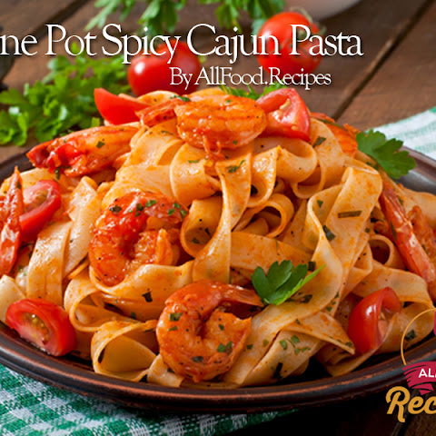 One Pot Spicy Cajun Pasta