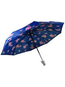 "Зонт ""Компакт L"", 110см, сине-розовый"