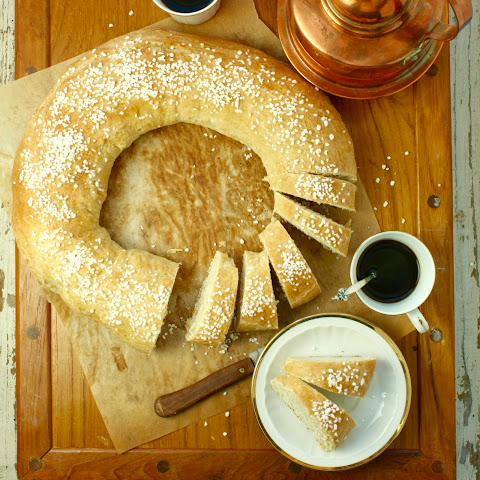 Swedish Cardamom Coffee Ring