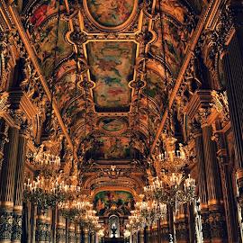 Opéra national de Paris by Sunay Yakub - Buildings & Architecture Other Interior ( paris, opera, nikon, shooting )