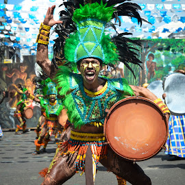 Tribal Colors by Bodz Villavert - People Body Art/Tattoos ( colors, warriors, dinagyang, iloilo, d7000, nikon, street dance, people, tribal, ati-atihan, philippines, asian )