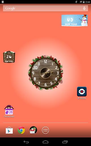 Analog Clock Wallpaper/Widget screenshot 9