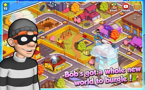 Robbery Bob 2: Double Trouble (Mod Money)