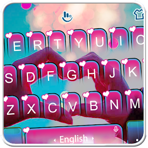 Live 3D Romantic Love Heart Keyboard Theme For PC / Windows 7/8/10 / Mac – Free Download
