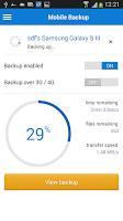 Screenshot of Livedrive Mobile