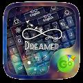 Dreamer Pro GO Keyboard Theme APK for Bluestacks