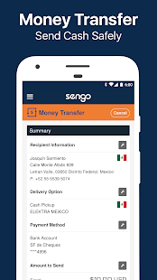 Most Trusted Money Transfer screenshot for Android