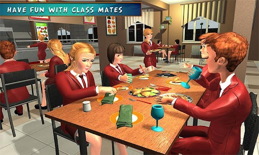 High School Girl Simulator: Virtual Life Game 3D for pc
