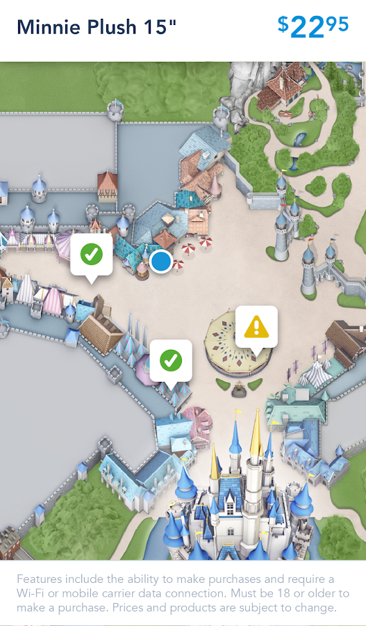 Geschäft Disney Parks android apps download