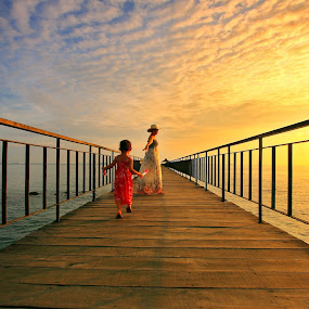Romantic Jetty by Alit  Apriyana - Landscapes Travel