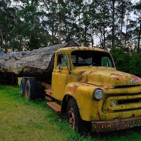 Old & Rusty by Helen Tweedie - Transportation Other