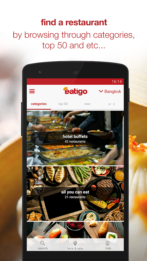 eatigo - restaurant discounts Screenshot 1