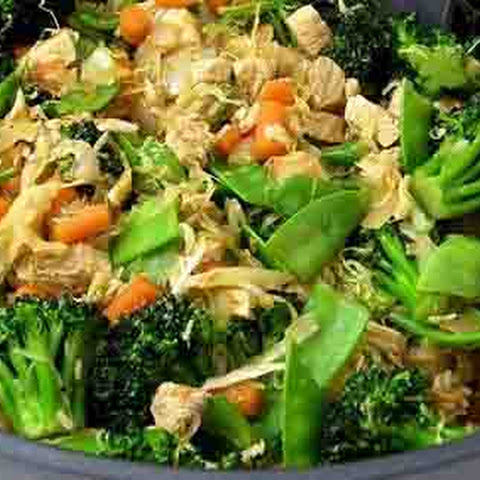 Chicken & Veggies Stir Fry