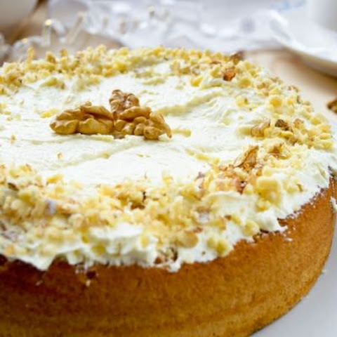 The Best Coconut Pecan Pudding Cake