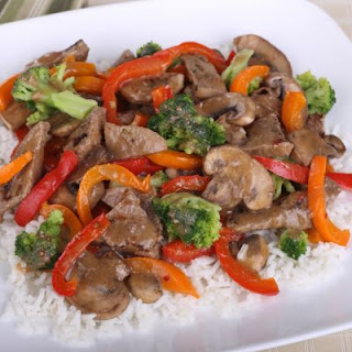 Garlic and Ginger Vegetable Beef Stir Fry