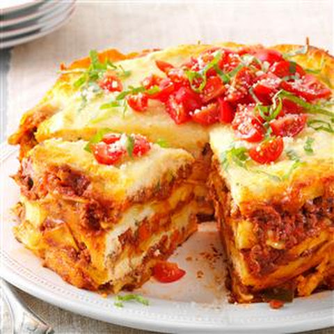 Hearty Slow Cooker Lasagna