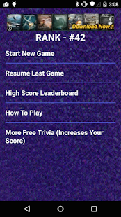 Randy Rogers Band Quiz Game - screenshot