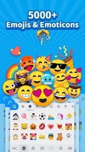 iKeyboard -GIF keyboard,Funny Emoji, FREE Stickers for pc