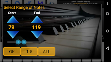 Screenshot of Piano Melody Free