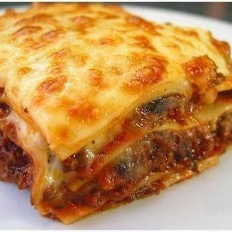 Lasagna With Salmon.