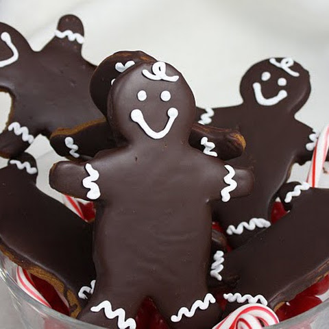 Chocolate Glazed Gingerbread
