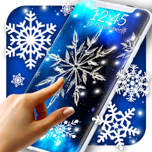 Snow Stars Free Wallpaper Icon