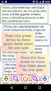 Two Language Book Reader - screenshot