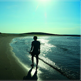 Walking alone by Theyjun Photoworks - Instagram & Mobile Instagram