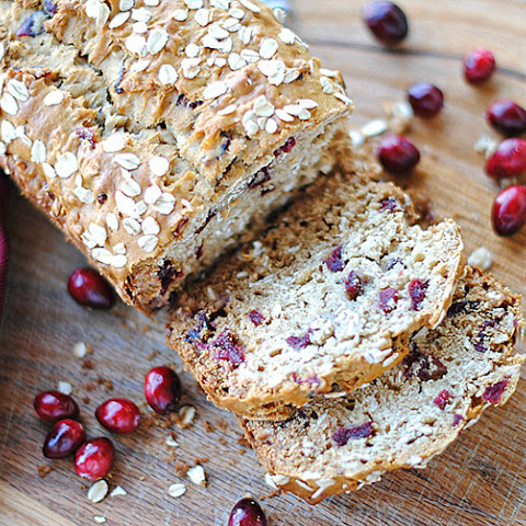 Cranberry Oat and Honey Bread