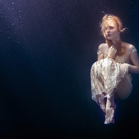 Fashion Underwater by Hartono Hosea - People Portraits of Women