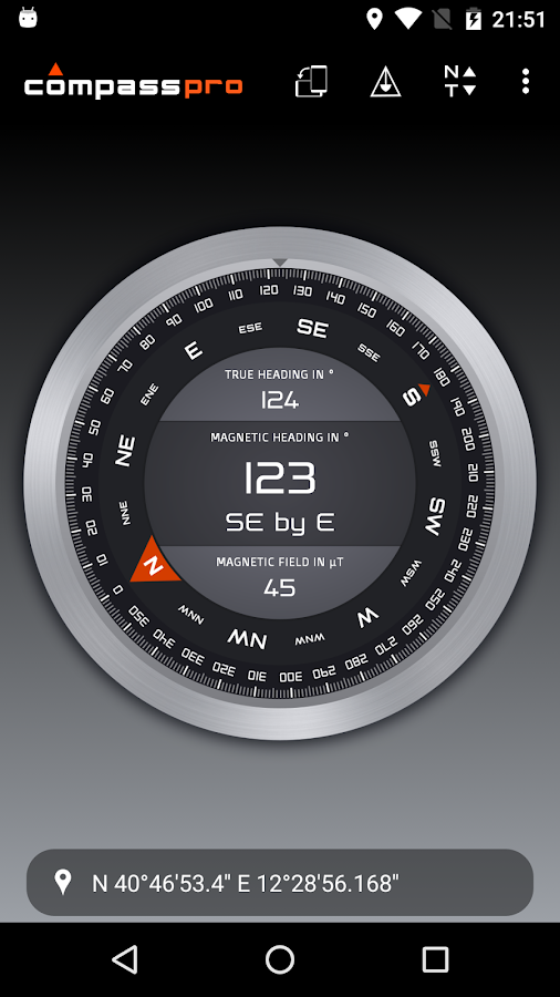 Compass Pro Screenshot 4