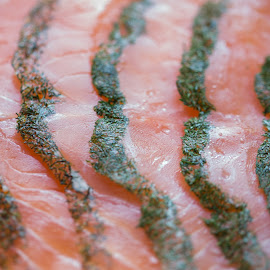 salmon by Jessica Horn - Food & Drink Meats & Cheeses ( fish, food, meat, salmon )